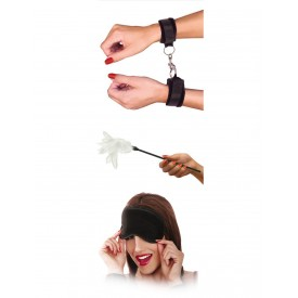 Набор фиксаций для эротических игр с перышком Sensual Seduction Kit
